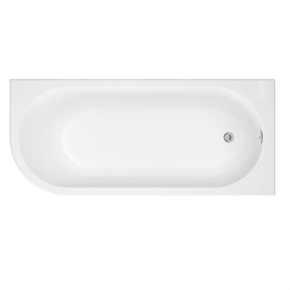 Pura Flite 1700mm Right Handed Single Ended Bath