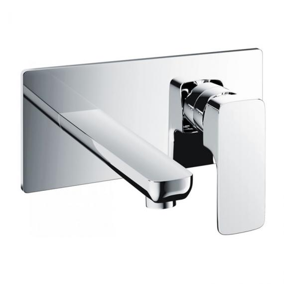 Pura Flite Wall Mounted Basin Mixer with Waste