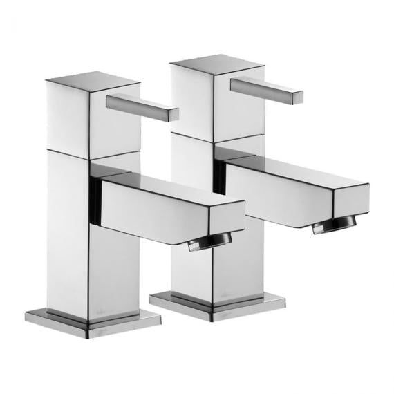 Pura SQ2 Basin Pillar Taps