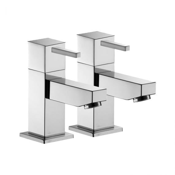 Pura SQ2 Bath Pillar Taps