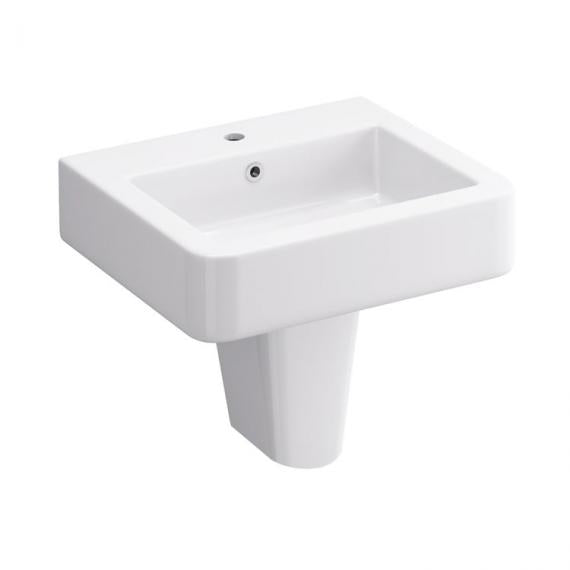 Pura Suburb 450mm One Tap Hole Basin & Semi Pedestal