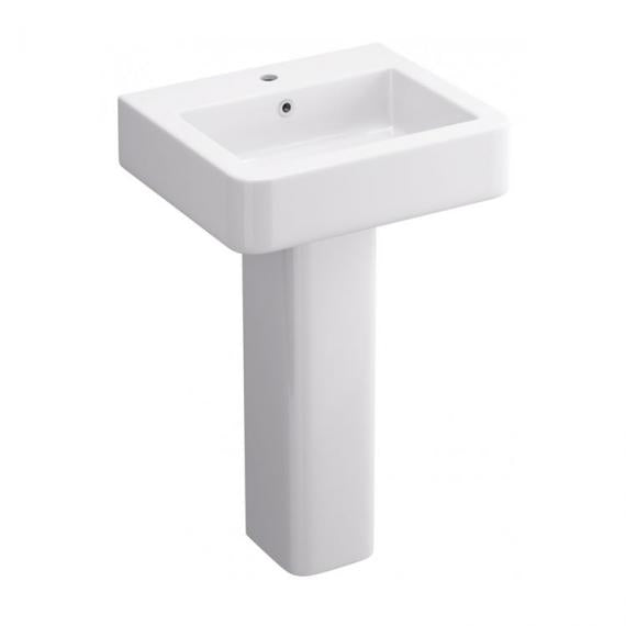 Pura Suburb 530mm Basin & Pedestal