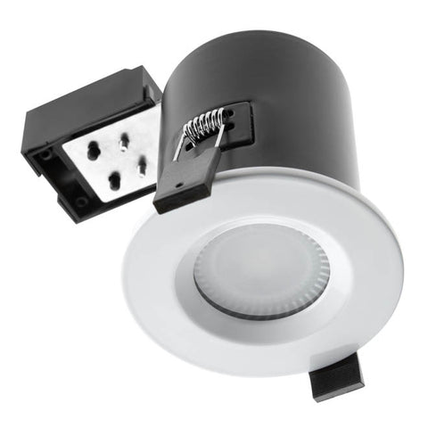 Hudson Reed White Fire & Acoustic Shower Light Fitting - SE30034W0
