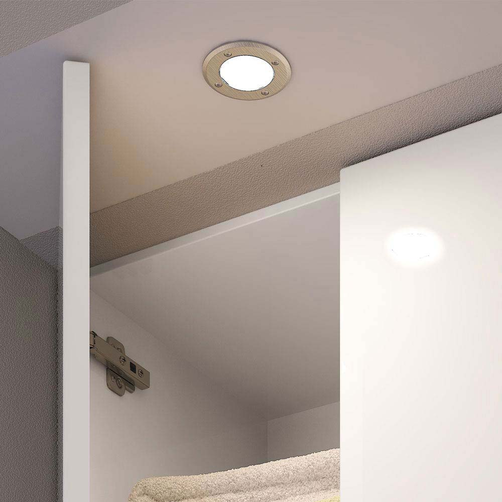 Hudson Reed Orca Surface or Recessed LED Cabinet Light