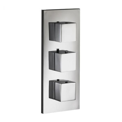 Pura SQ2 Dual Outlet Thermostatic Concealed Shower Valve