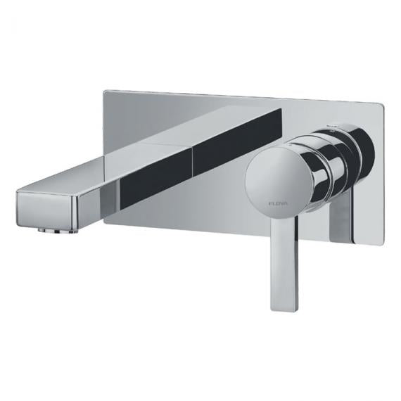 Flova STR8 Wall Mounted Single Lever Basin Tap