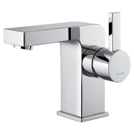 Flova STR8 Basin Mixer Inc Waste