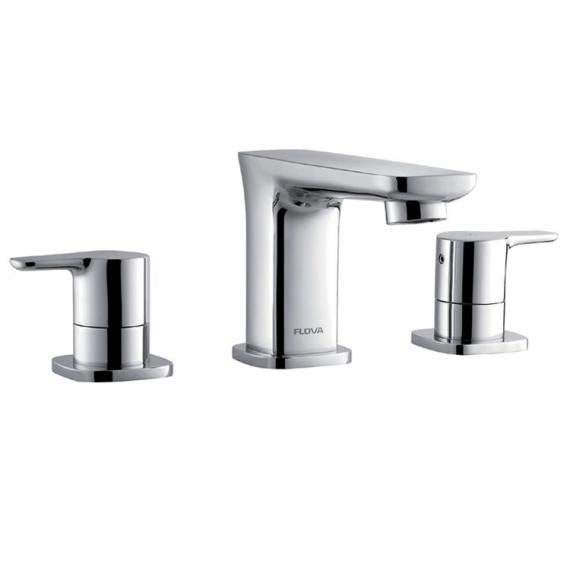 Flova Urban 3 Hole Basin Mixer Inc Waste