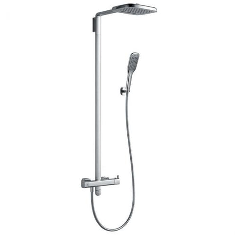 Flova Urban Thermostatic Shower Column & Hand Shower