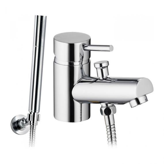 Pura Xcite Mono Bath Shower Mixer with Shower Kit