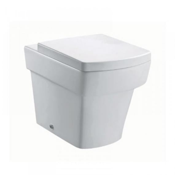 Pura Bloque Back To Wall Toilet & Seat