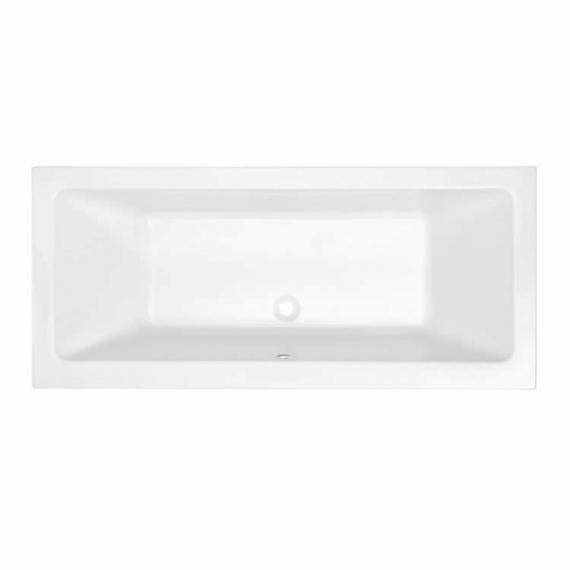 Pura Bloque 1800 x 800mm Double Ended Bath