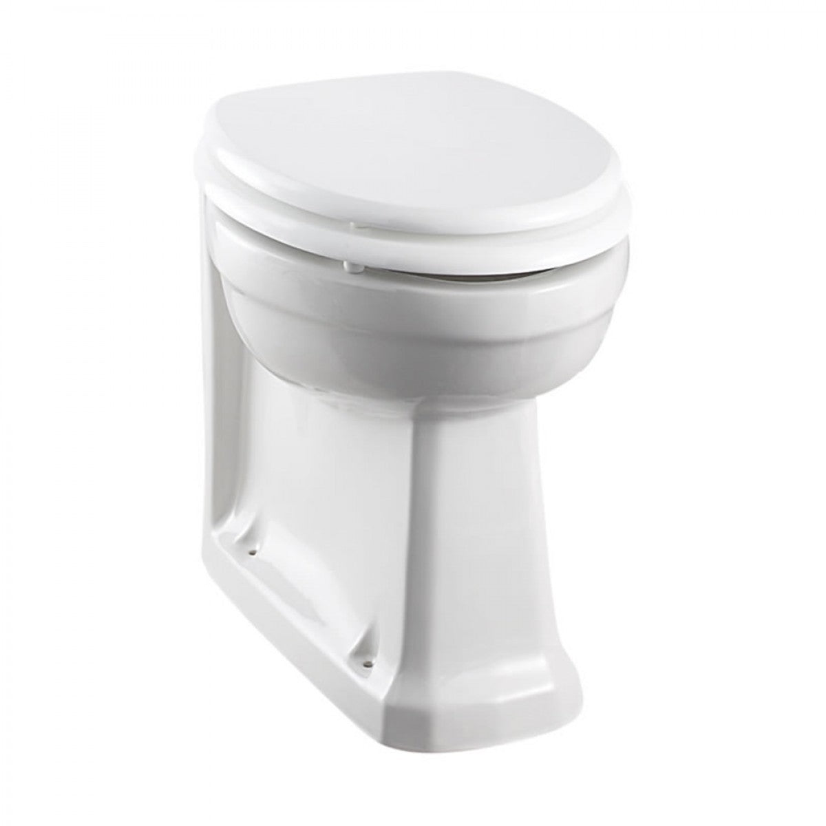 BURLINGTON BACK TO WALL TOILET & SOFT CLOSE SEAT - 480MM PROJECTION
