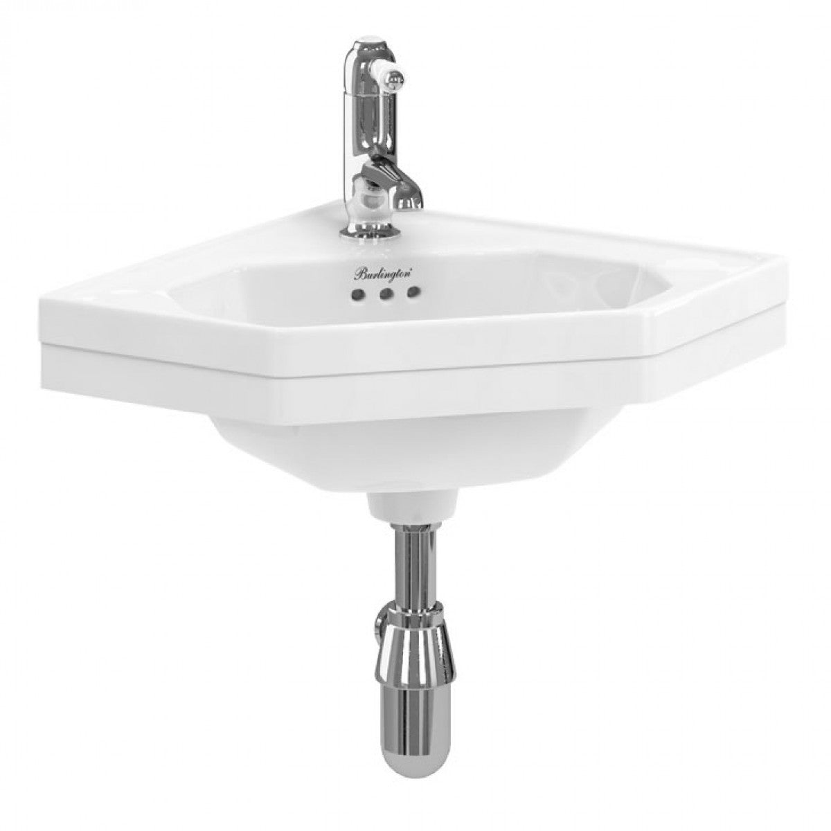 BURLINGTON CORNER CLOAKROOM BASIN
