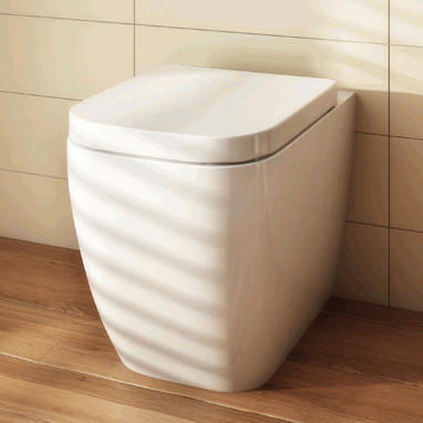 Pura Essence Back To Wall Toilet & Seat