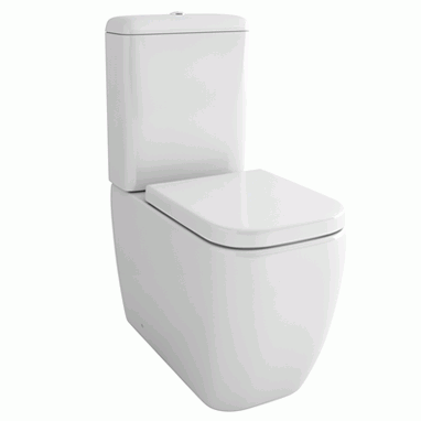 Pura Essence Close Coupled Toilet & Seat