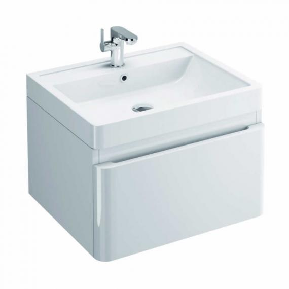 Pura Flite 900mm White Single Drawer Unit & Basin