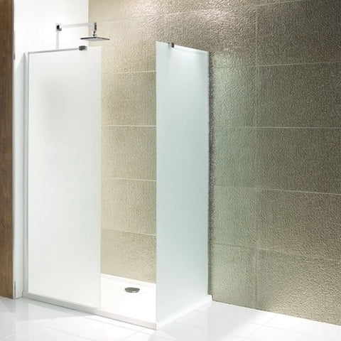 Eastbrook Volente Frosted Walk-In Shower Enclosure