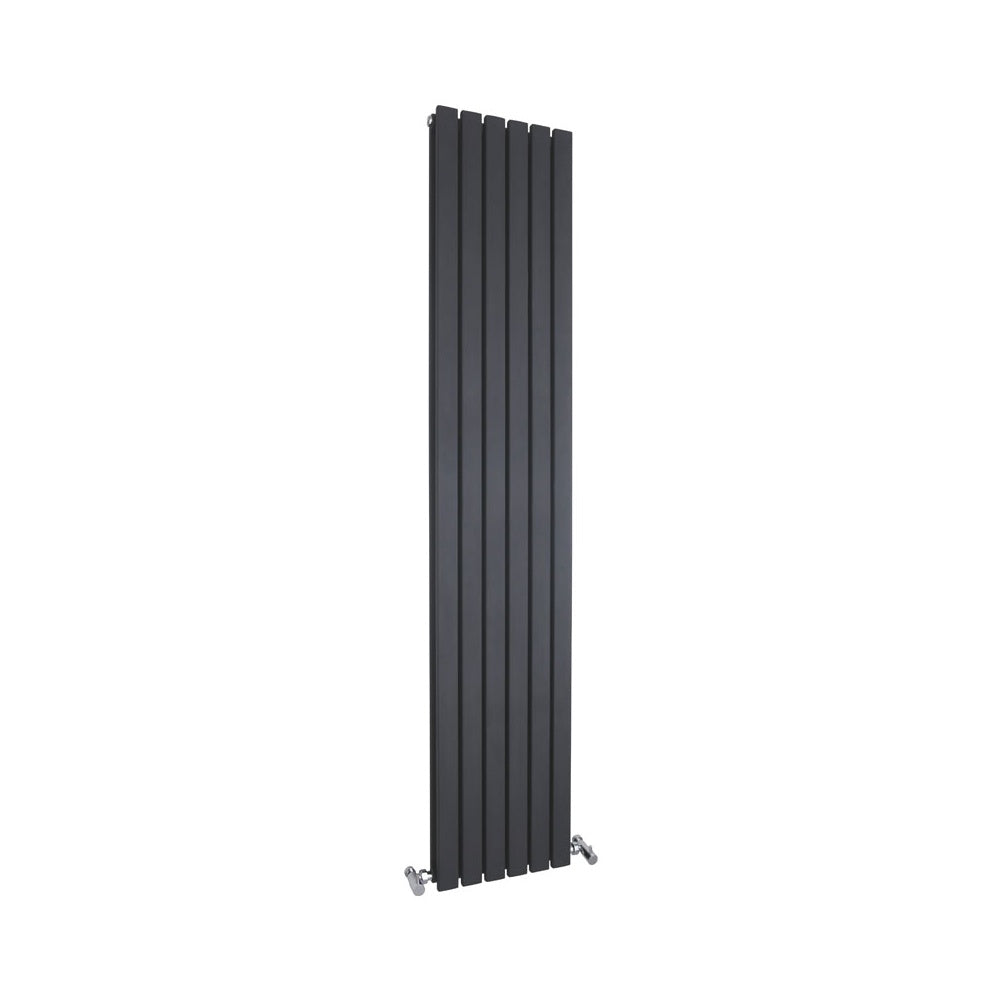 Copy of Hudson Reed Sloane Double Panel Designer Radiator 1500 x 354mm - Black - HLW
