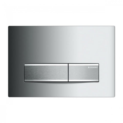 Geberit Metal Sigma50 Dual Flush Plate - Gloss Chrome