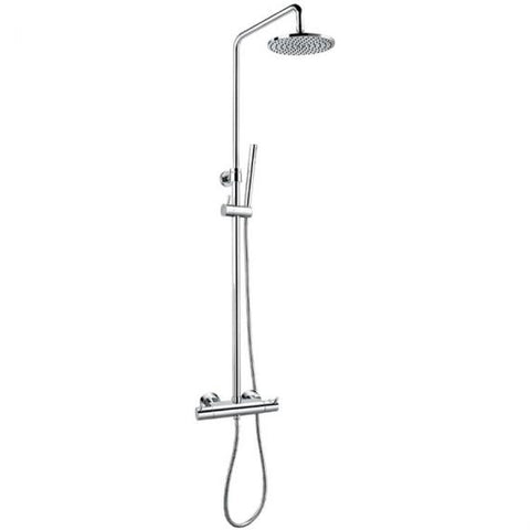 Flova Levo Thermostatic Exposed Shower Kit