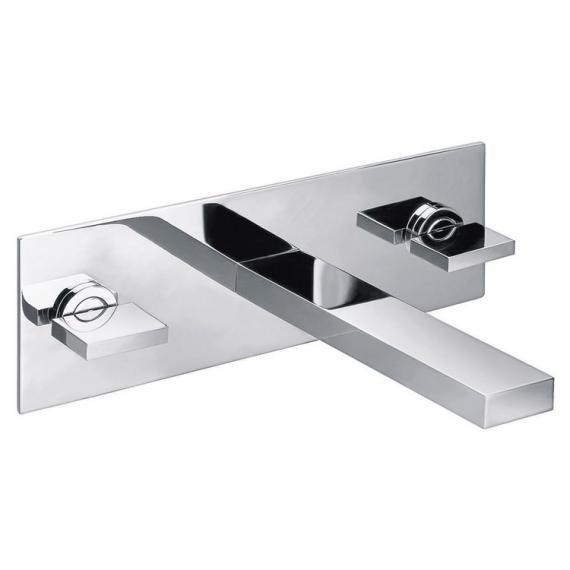 Pura Bloque Wall Mounted Basin Mixer