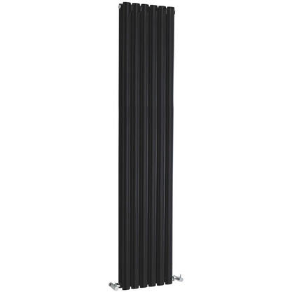 Hudson Reed Revive Vertical Single Panel Radiator 1800 x 354mm - Black HLB23
