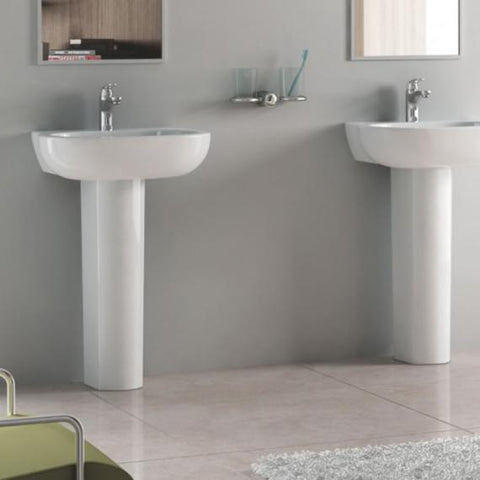 Pura Urban 560mm Basin & Full Pedestal