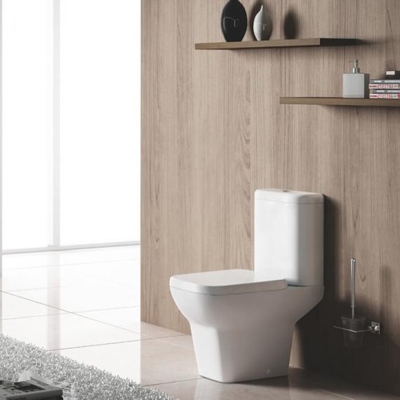 Pura Urban Close Coupled Toilet & Seat