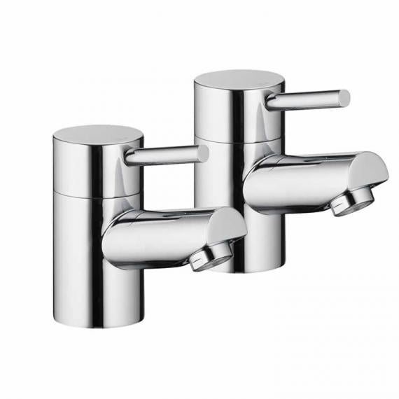 Pura Xcite Basin Pillar Taps