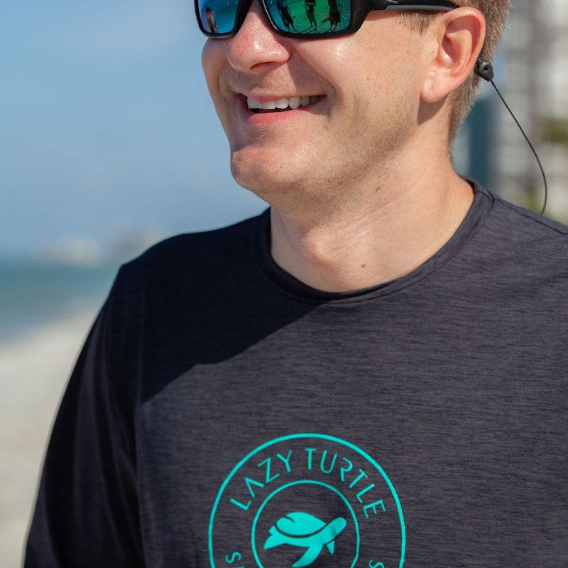 Man wearing Coastal Sun Safe Long Sleeve