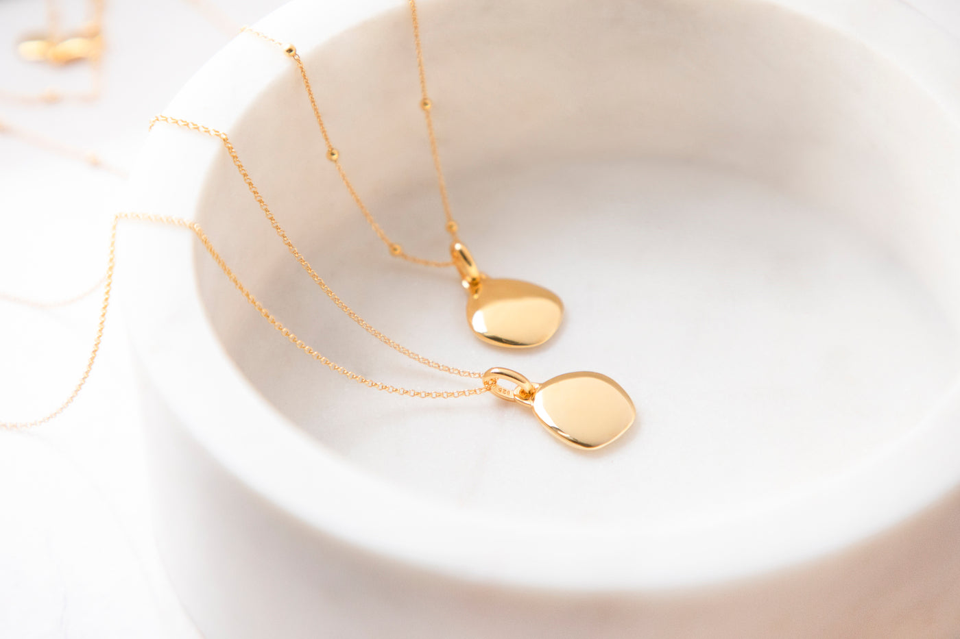 Lena Pebble Necklace