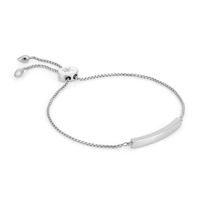 Allegra Sterling Silver Bar Bracelet