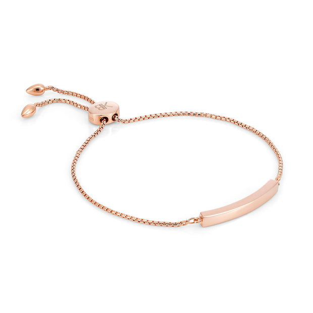 Allegra 18ct Rose Gold Vermeil Bar Bracelet