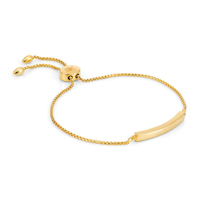 Allegra 18ct Gold Vermeil Bar Bracelet