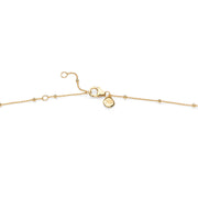 "18ct Gold Vermeil 16-18"" Beaded Chain"