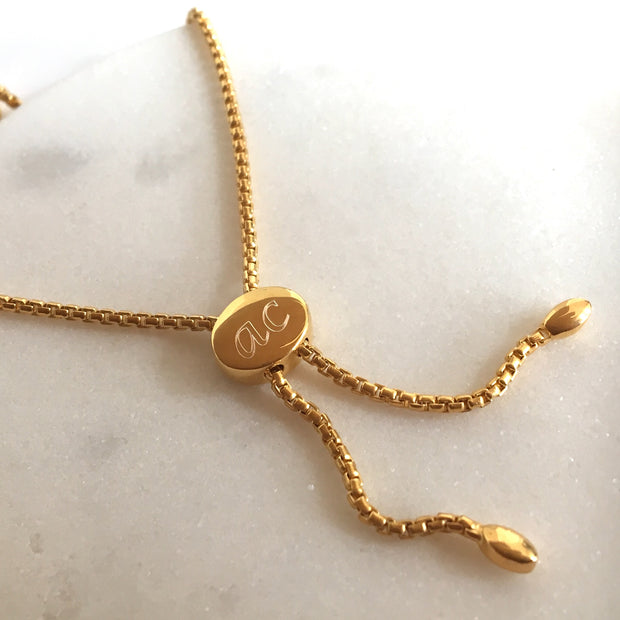 Lena 18ct Gold Vermeil Pebble Bracelet