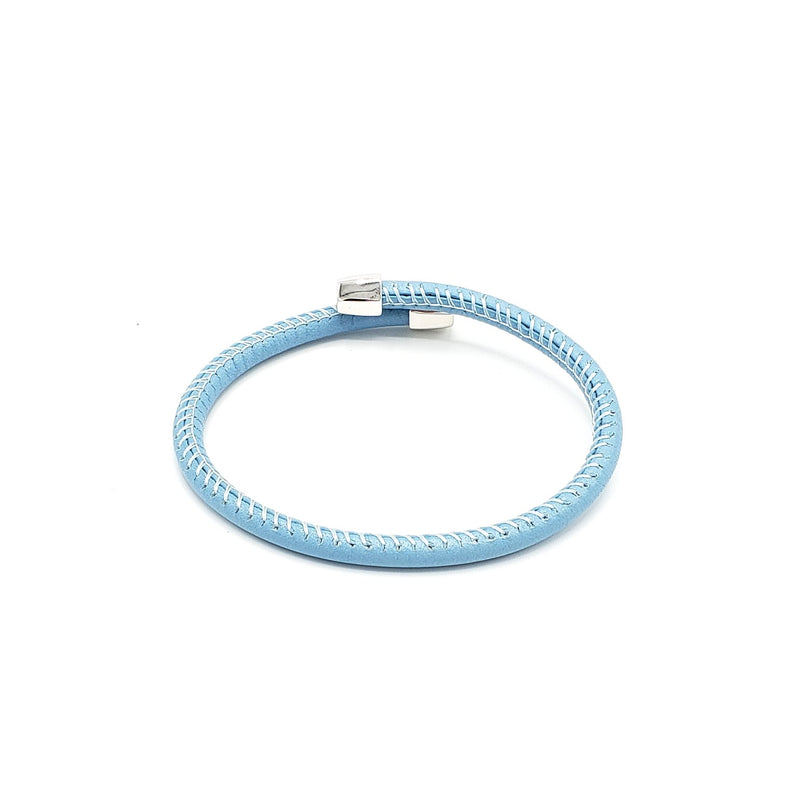 Semirigid Italian Leather Bracelet - LOVE DOT, Inc.