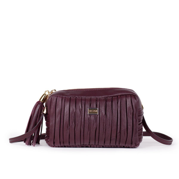 Bordeaux Softissima Crossbody - LOVE DOT, Inc.