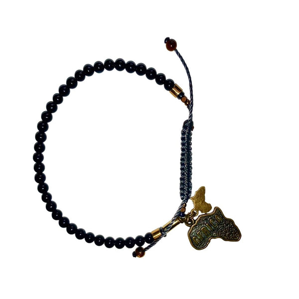 African Onyx Bracelet (4MM) - LOVE DOT, Inc.