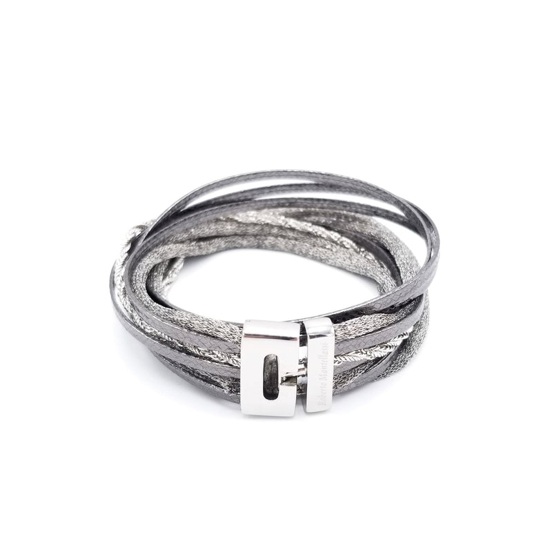 Roberto Mantellassi Anthracite Bracelet - LOVE DOT, Inc.