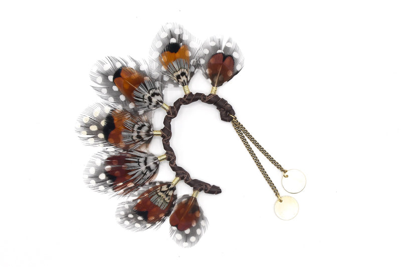 Massai Ear Cuff Brown - LOVE DOT, Inc.