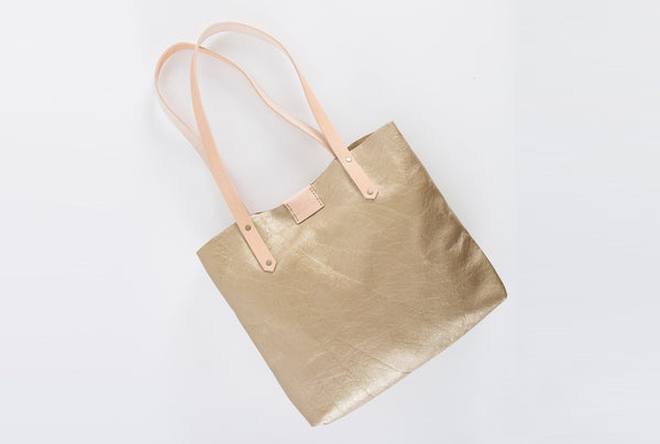 Gold Soft Tote - LOVE DOT, Inc.