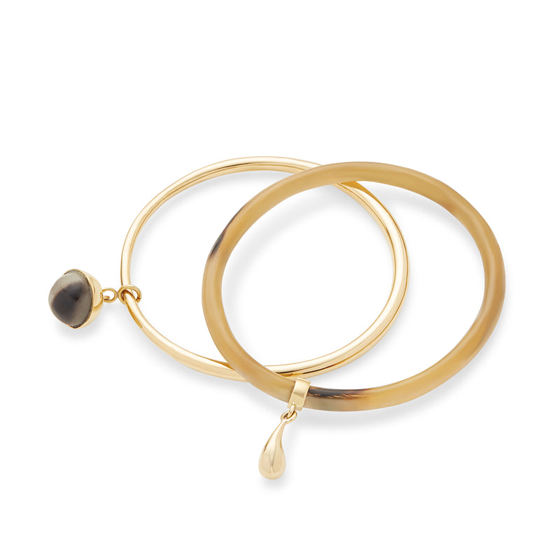 Jua Charm Bangle - LOVE DOT, Inc.