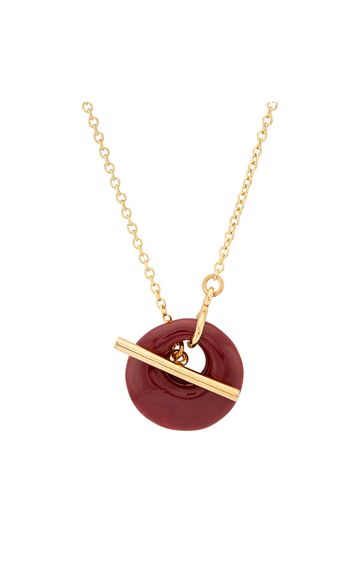 Kazuri Lariat Necklace - LOVE DOT, Inc.