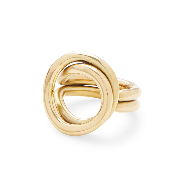 Linea Ring (gold) - LOVE DOT, Inc.
