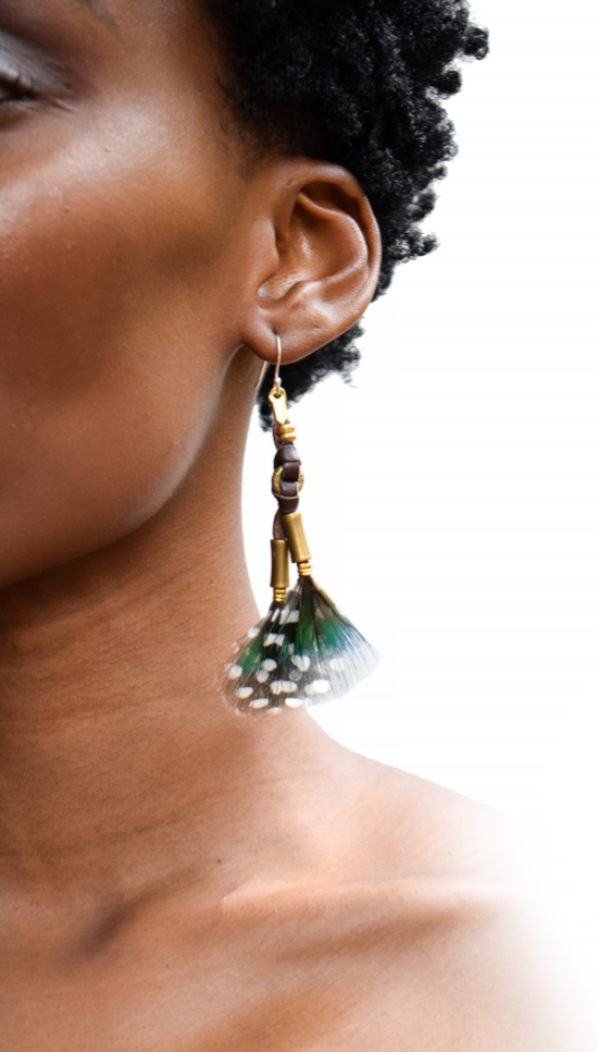 Gold Mabawa Earring - LOVE DOT, Inc.