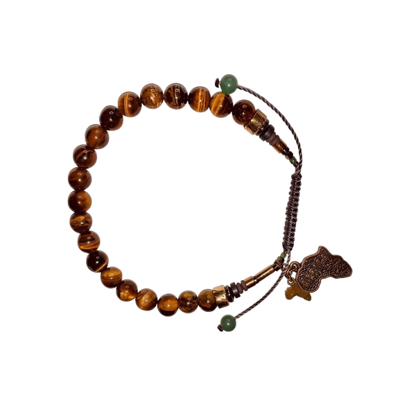 Tiger's Eye Bracelet (8MM) - LOVE DOT, Inc.