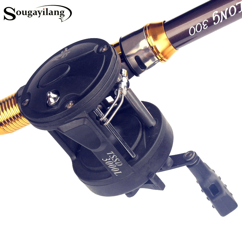 Sougayilang Drum Fishing Reels 3.8:1 TSSD3000L/4000L