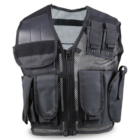 Police Tactical Vest Mens Hunting Military Field